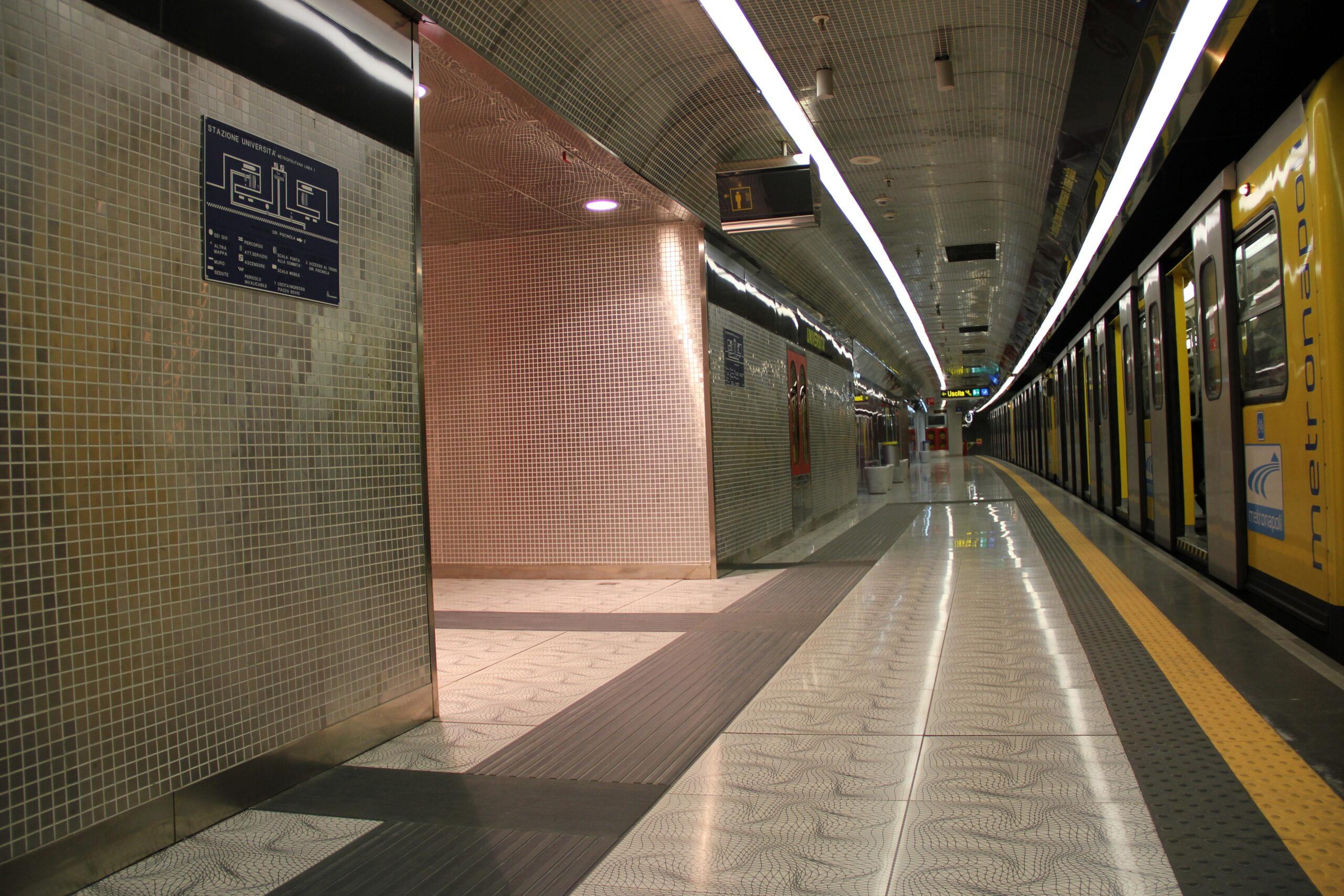 Metropolitana Napoli Università